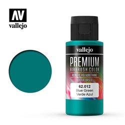 Краска акрил-уретановая Vallejo Premium/ сине-зеленый