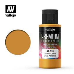 Краска акрил-уретановая Vallejo Premium/ охра желтая