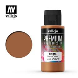 Краска акрил-уретановая Vallejo Premium/ охра темная