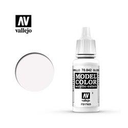 """003.""""Model Color"""" Белый глянцевый. 842"""
