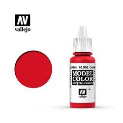 """030.""""Model Color"""" Кармин красный. 908"""