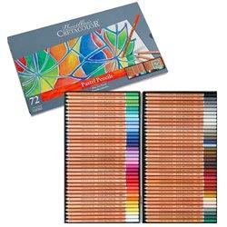 Набор пастельных карандашей FINE ART PASTEL, в металлической коробке, 72 цвета