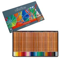 Набор пастельных карандашей FINE ART PASTEL, в металлической коробке, 36 цветов