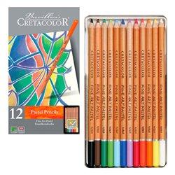 Набор пастельных карандашей FINE ART PASTEL, в металлической коробке, 12 цветов