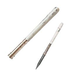 Держатель карандаша, мраморный серебристо-белый цвет