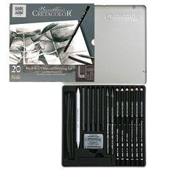 Художественный набор BLACK BOX, металлическая коробка, 20 шт.
