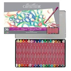 Набор цветных карандашей KARMINA, 36 цветов, металлическая коробка