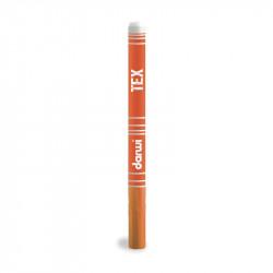 Маркер по текстилю DARWI Tex 3 мл/ Оранжевый/ заострен. наконечн.