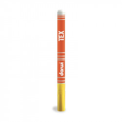 Маркер по текстилю DARWI Tex 3 мл/ Золотисто-желтый/ заострен. наконечн.