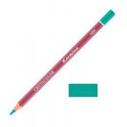 Карандаш цветной профессиональный KARMINA цвет 176 Бирюзовый тёмный