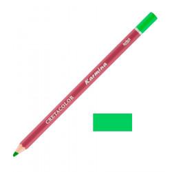 Карандаш цветной профессиональный KARMINA цвет 181 Зелёный торфяной светлый