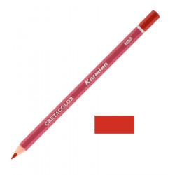 Карандаш цветной профессиональный KARMINA цвет 209 Английская красная
