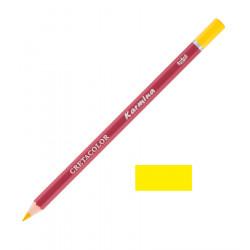 Карандаш цветной профессиональный KARMINA цвет 107 Кадмий лимонный