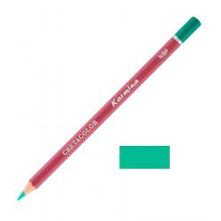 Карандаш цветной профессиональный KARMINA цвет 177 Изумрудный тёмный