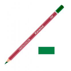 Карандаш цветной профессиональный KARMINA цвет 184 Зелёный травяной
