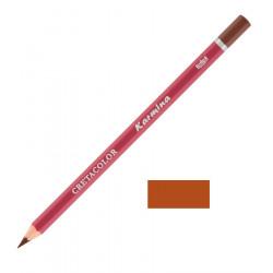"""Профессиональный цветной карандаш """"KARMINA"""", цвет 215 Каштан коричневый"""