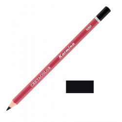Карандаш цветной профессиональный KARMINA цвет 250 Слоновая кость черная