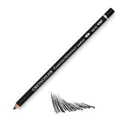 Угольный карандаш, круглый корпус диаметром 7,5 мм, диаметр стержня 3,8 мм, твердость 3 (твердый)