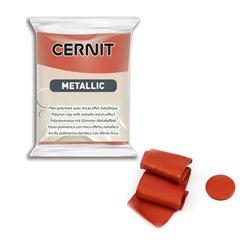 """Полимерный моделин """"Cernit Metallic"""" 56гр. медь"""