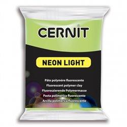 """Полимерный моделин """"Cernit Neon"""" 56гр. зеленый 600"""