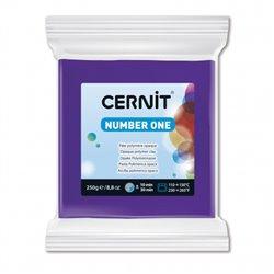 """Полимерный моделин """"Cernit Number One"""" 250 гр./фиолетовый 900"""