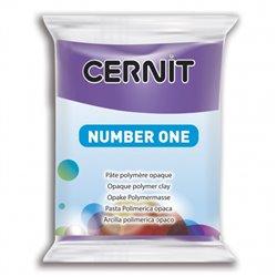 """Полимерный моделин """"Cernit Number One"""" 56гр. фиолетовый 900"""