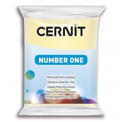 """Полимерный моделин """"Cernit Number One"""" 56гр. ваниль 730"""