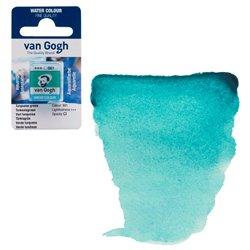 Краска акварельная Van Gogh кювета №661 Сине-зеленый
