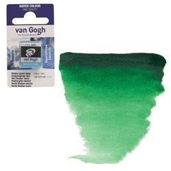 Краска акварельная Van Gogh кювета №645 Зеленый Хукера насыщенный