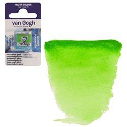 Краска акварельная Van Gogh кювета №633 Желто-зеленый устойчивый