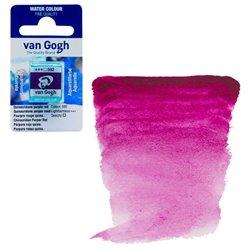 Краска акварельная Van Gogh кювета №592 Квинакридон пурпурно-красный