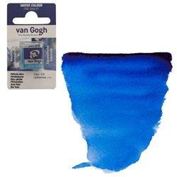 Краска акварельная Van Gogh кювета №570 Синий фталоцианин