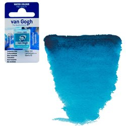 Краска акварельная Van Gogh кювета №522 Бирюзовый