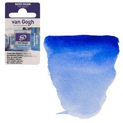 Краска акварельная Van Gogh кювета №512 Кобальт синий (ультрамариновый)