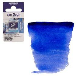 Краска акварельная Van Gogh кювета №506 Ультрамарин насыщенный