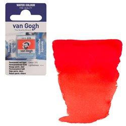 Краска акварельная Van Gogh кювета №370 Красный светлый устойчивый