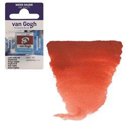 Краска акварельная Van Gogh кювета №339 Красный оксид светлый