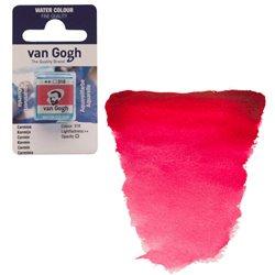 Краска акварельная Van Gogh кювета №318 Карминовый