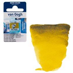 Краска акварельная Van Gogh кювета №296 Зелено-желтый азометин