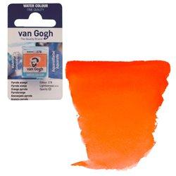 Краска акварельная Van Gogh кювета №278 Оранжевый пирольный