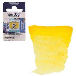 Краска акварельная Van Gogh кювета №272 Жёлтый средний прозрачный