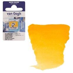 Краска акварельная Van Gogh кювета №270 Желтый насыщенный АЗО