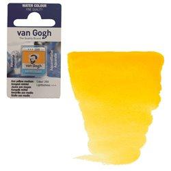 Краска акварельная Van Gogh кювета №269 Желтый средний АЗО