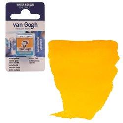 Краска акварельная Van Gogh кювета №244 Желтый индийский (каштановый)