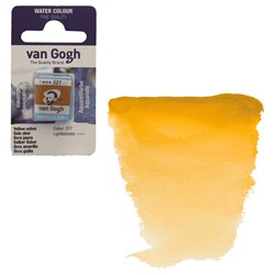 Краска акварельная Van Gogh кювета №227 Охра желтая