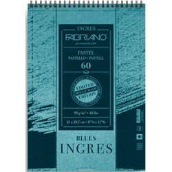 Блок INGRES LTD A4 BLUES 21х29,7см, 90гр.