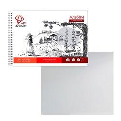 Альбом-планшет д/зарисовок 40 л. А4 греб. жестк. подложка офс. 160 г/м