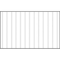 Картон цв. гофрированый мелкий белый 50х70 см, 300 гр