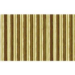 Картон цв. гофрированый мелкий ЗОЛОТО 50х70 см, 300 гр
