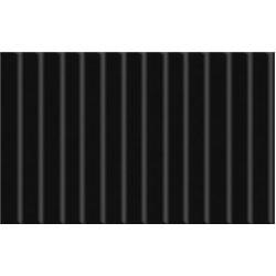 Картон цв. гофрированый мелкий черный 50х70 см, 300 гр